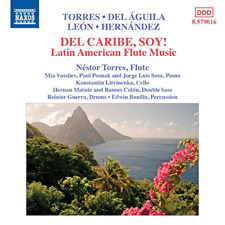 CLASSICAL V.A.-DEL CARIBE SOY! LATIN AMERICAN FLUTE MUSIC-JAPAN CD C15