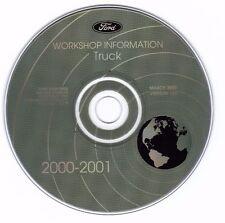 FORD - 2000-01 Truck Service Information CD - F-150  Super Duty  Econoline  13.0