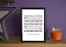 Framed - Manic Street Preachers - A Design For Life -  Art Print - 5x7 Inches