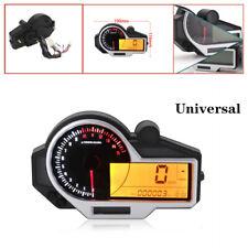 Motorcycle LCD N 1-6 Digital Speedometer Odometer Tachometer  Instruments km/h