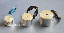 Electric Lifting Magnet Holding Electromagnet Lift Solenoid 30mm 22LB DC12V 100N