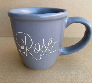Coffee Mug Cup Rose Wine All Day Gray Large