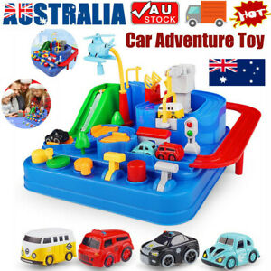Car Adventure Game Rescue Squad Adventure Rail Model Racing Educational Toys ZV