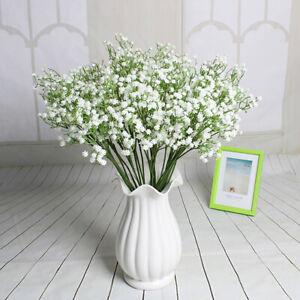 Gypsophila Bridal Flower Bouquet Wedding16*Artificial Baby's Breath Home Decor