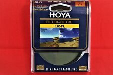 Hoya 77mm circular polarising filter - slim frame *UK Seller*