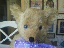 Antique Vintage 1930s American Knickerbocker Teddy Bear 18in Vgc+