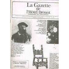 La GAZETTE de l'Hôtel DROUOT 1983 N°18 POUPÉES Tableau ATLAN et OZENFANT Foujita