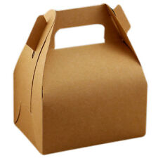 5pcs Kraft Paper Lucky Party Gift Regal Goody Bags Cupcake Muffins Cake Box Q2I1