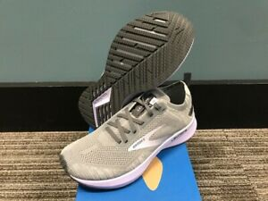 Women's Size 10 Brooks Levitate 4 Running Shoes New In Box Grey/Pearl/Purple