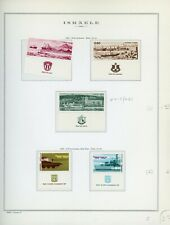 ISRAEL Marini Specialty Album Page Lot #43 - SEE SCAN - $$$