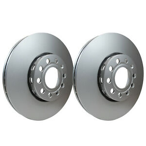 Front Brake Discs 288mm 53942PRO fits VW PASSAT 3B5 1.8 T 2.8 V6