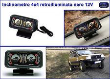 Inclinometro indicatore rollio e beccheggio per fuoristrada jeep 4x4 auto