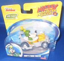 DISNEY JUNIOR DIE CAST MICKEY AND THE ROADSTER RACERS GOOFY'S TURBO TUBSTER