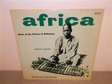 * Africa . Music Of The Princes Of Dahomey . Festival Tohossou . Esoteric . LP