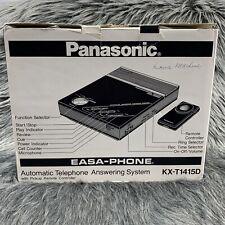 Vintage Panasonic KX-T1415D EASA Phone Auto-Telephone Answering Machine TESTED