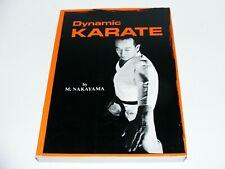 Vintage 1989 Dynamic Karate Instruction Book Martial Arts Fighting Self Defense