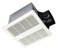 KAZE SE120 Super Quiet Bathroom Ventilation Exhaust Bath Fan, 120-CFM, 0.3-sones