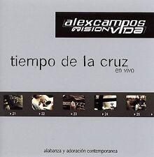 Tiempo de la cruz en vivo CD Alex Campos Musica cristiana NEW Oferta
