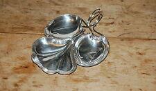 William Hutton Sons Creswick Co Sheffield English Silverplate Leaf Scroll Bowl