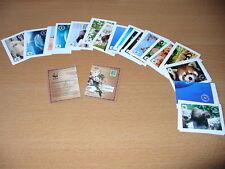 EDEKA  Sticker WWF Sammelkarten 5 Stück aussuchen  Tiersticker Aufkleber Tiere
