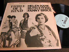 Three of a Kind Lp Helen Kane Betty Boop Ruth Etting fanny brice cartoon swing!!