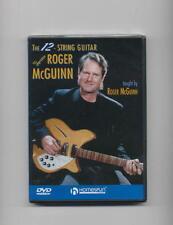 RICKENBACKER 12-STRING GUITAR - ROGER MCGUINN DVD *NEW*