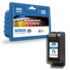 REFRESH CARTRIDGES COLOUR 78XL INK COMPATIBLE WITH HP PRINTERS