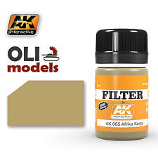 Weathering FILTER for AFRIKA KORPS Vehicles Enamel 35ml - AK Interactive 065