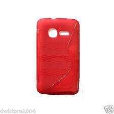 Custodia cover CASE WAVE ROSSA per Vodafone Smart Mini 875