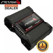 Stetsom EX3000 3700W 2ohm Black Edition Full Range Amp Mono Car Module Amplifier
