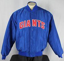 New York Giants Vintage 90's Starter Snap NFL Jacket Size XL Satin