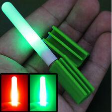 LED Lamp Fishing Rod Tip Clip Glow Stick Electronic Bite Alarm Light Dark Night