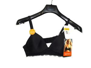 Warner's Size 36A NWT Black Bra Bliss Wirefree Contour Cups Style 2012 Wireless