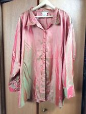 ULLA POPKEN 36/38 4X 5X Dressy Button-up Shirt Top Blouse (70 inch bust)