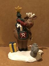 "Midwest of Cannon Falls Eddie Walker Rudolph Reindeer Cardinal Squirrel 5.5"""