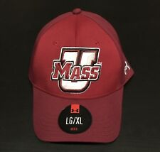 UMass Minutemen Massachusetts Under Armour UA Stretchfit L/XL Hat NWT Men's