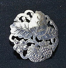Scarce Stavre Gregor Panis (1889-1974) Sterling Silver Brooch Falmouth, Mass.