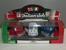 CORGI 05506 ITALIAN JOB FILM 3 PIECE MINI COOPER CAR DIECAST MODEL GIFT SET