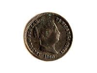 Moneda 5 Ctms Real, Isabel II, 1860
