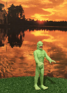 1980 REMCO Glow In The Dark Creature From Black Lagoon 3 3/4 Universal Monsters