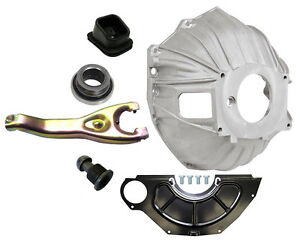 "NEW CHEVY BELLHOUSING KIT,COVER,CLUTCH FORK,THROWOUT BEARING,GM 621,11"",3899621"