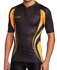 Kooga Tight Fit Curve Shirt Black / Gold Size 5XL New with Tags UK Free P&P