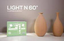 LiBrOOm LIGHT 500 N - lampada tavolo o applique - design libro Fiat 500 - verde