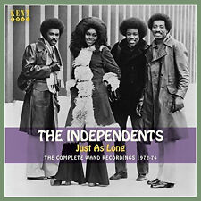 The Independents Just as Long Complete Wand Recs 1972-74 70s Soul CD