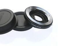 Minolta MD Lens to Canon EOS Camera Glass Adapter 80D 70D 60D 50D 40D 30D 1300D