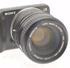 SONY E MOUNT Adapté 50 mm F1.7 Premier objectif pour NEX3, 5,6,7 A5000, A6000, A6300, A650