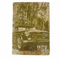 MG MGB Tourer and GT Handbook British Leyland