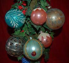 1940's 6 Ornaments South Florida Estate Sale Super Rare!