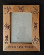 MICKEY MOUSE WOODEN PICTURE FRAME - WALL OR TABLETOP