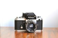 NIKON F2 , DP-1 Viewfinder   Professional 35mm film camera   w/ Nikkor 50mm Lens
